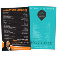 Important Numbers Magnets - 72mm X 147mm