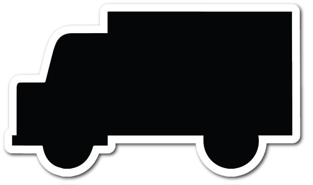 Truck Shape Die Cut Fridge Magnets Mister Magnets