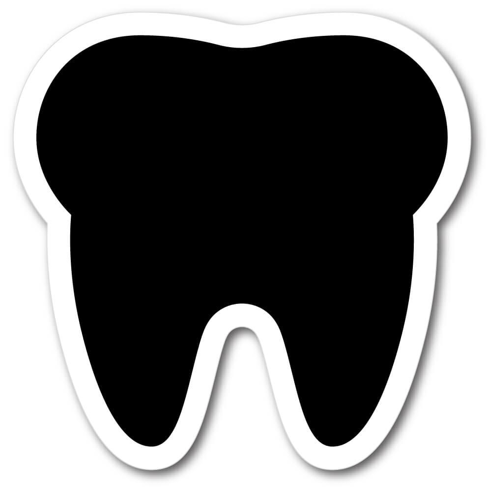Tooth Shape Die Cut Fridge Magnets Mister Magnets