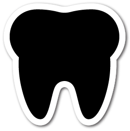 Tooth Shape Magnets - Tooth