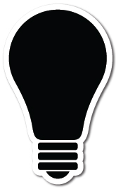 Light Bulb Shape Magnets - Light Bulb